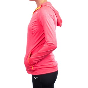 Mizuno Active Womens Training Hoodie - Diva Pink