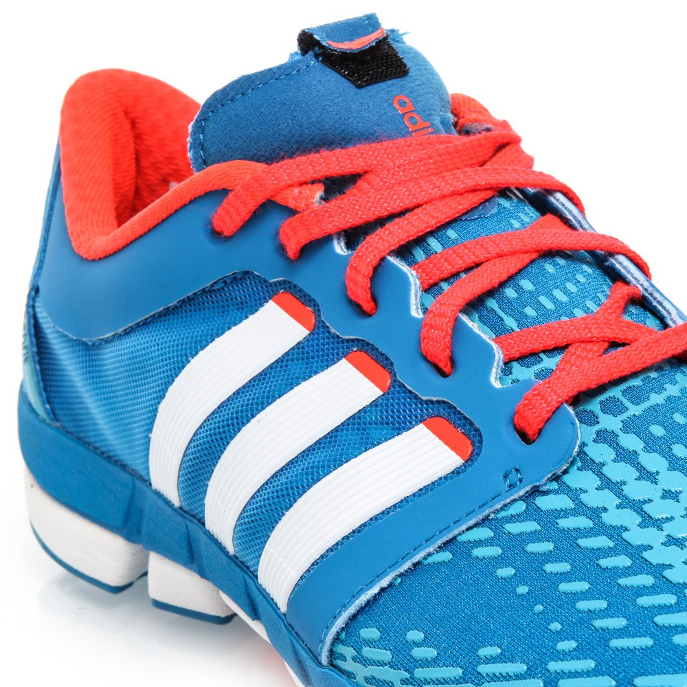 adidas adipure motion mens running shoes blue white