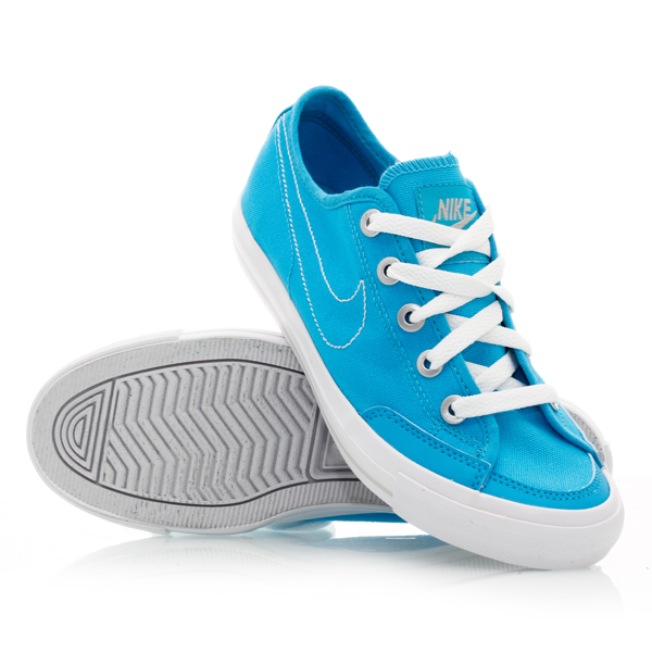 nike go canvas 400 womens casual shoes blue