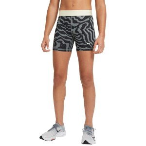 Nike Pro Printed Kids Girls Training Shorts