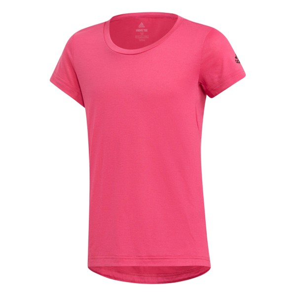 Adidas Prime Kids Girls Training T-Shirt - Real Magenta