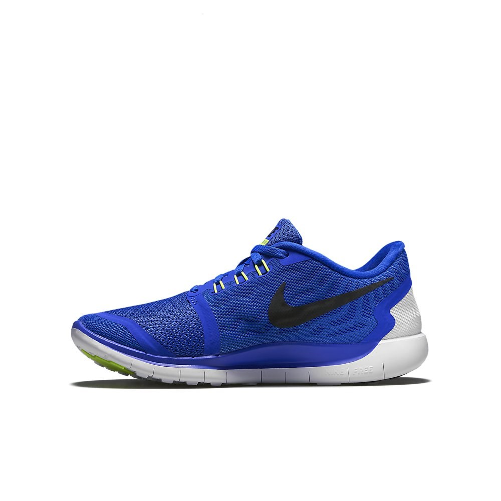 nike free 5 0 gs 2015 kids boys running shoes game royal blue black online sportitude. Black Bedroom Furniture Sets. Home Design Ideas