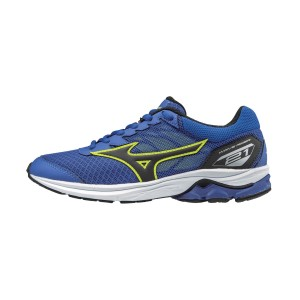 Mizuno Wave Rider 21 - Kids Boys Running Shoes