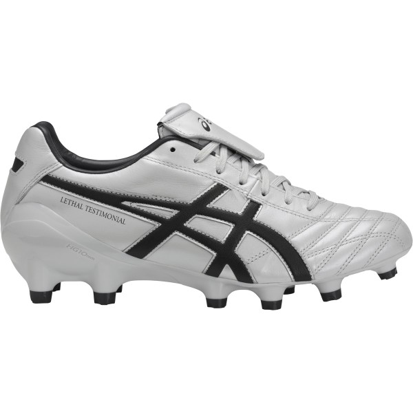 Asics Lethal Testimonial 4 IT - Mens Football Boots - Glacier Grey/Black/Dark Grey