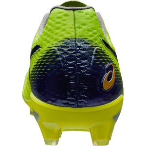 Asics Ultrezza - Mens Football Boots - Neon Lime/Peacoat