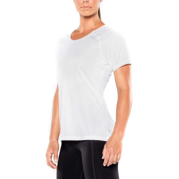 2XU X-Vent Womens Running T-Shirt - White