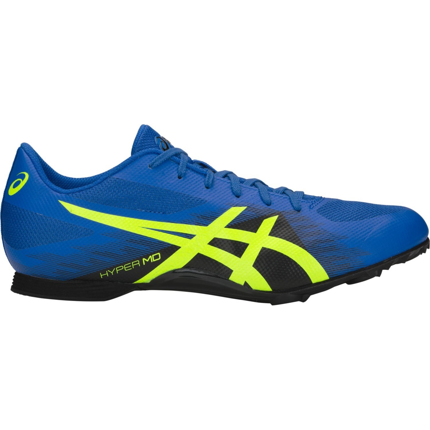de251159b Asics Hyper MD 7 - Mens Middle Distance Track Spikes - Illusion Blue Hazard  Green