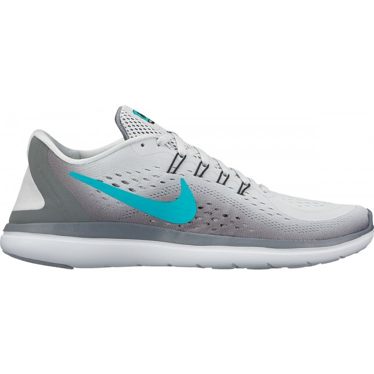 419917b46ccc9 Nike Flex 2017 RN - Womens Running Shoes - Pure Platinum Clear Jade Cool