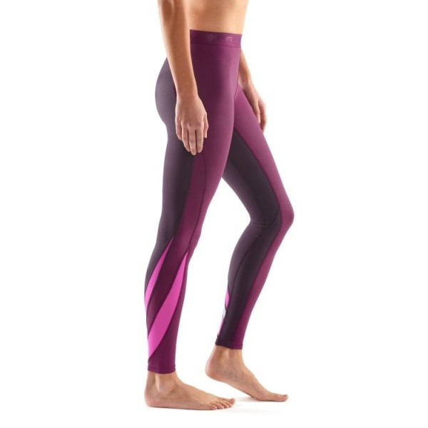 Skins DNAmic Womens Compression Long Tights - Hyssop