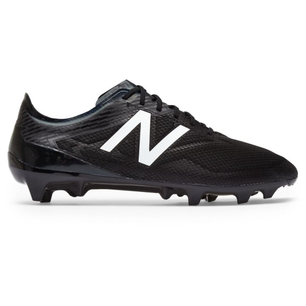 New Balance Furon 3.0 Pro FG Blackout - Mens Football Boots - Black/White