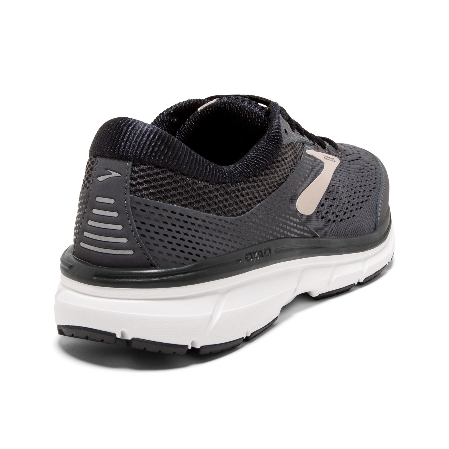 886a1d8ffb4 Brooks Dyad 10 - Mens Running Shoes - Grey Black Tan