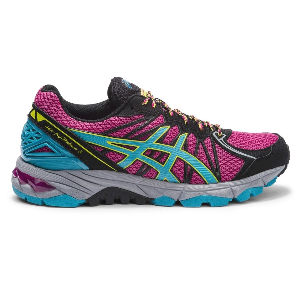 asics gel fuji trabuco 3 last size us 7 5 womens trail. Black Bedroom Furniture Sets. Home Design Ideas