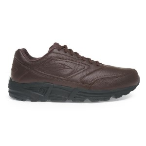 Brooks Addiction Walker - Mens Walking Shoes - Brown Leather