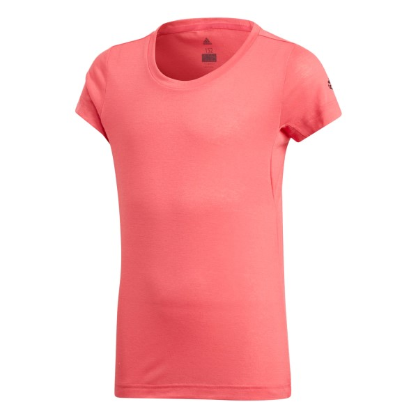 Adidas Prime Kids Girls Training T-Shirt - Real Pink