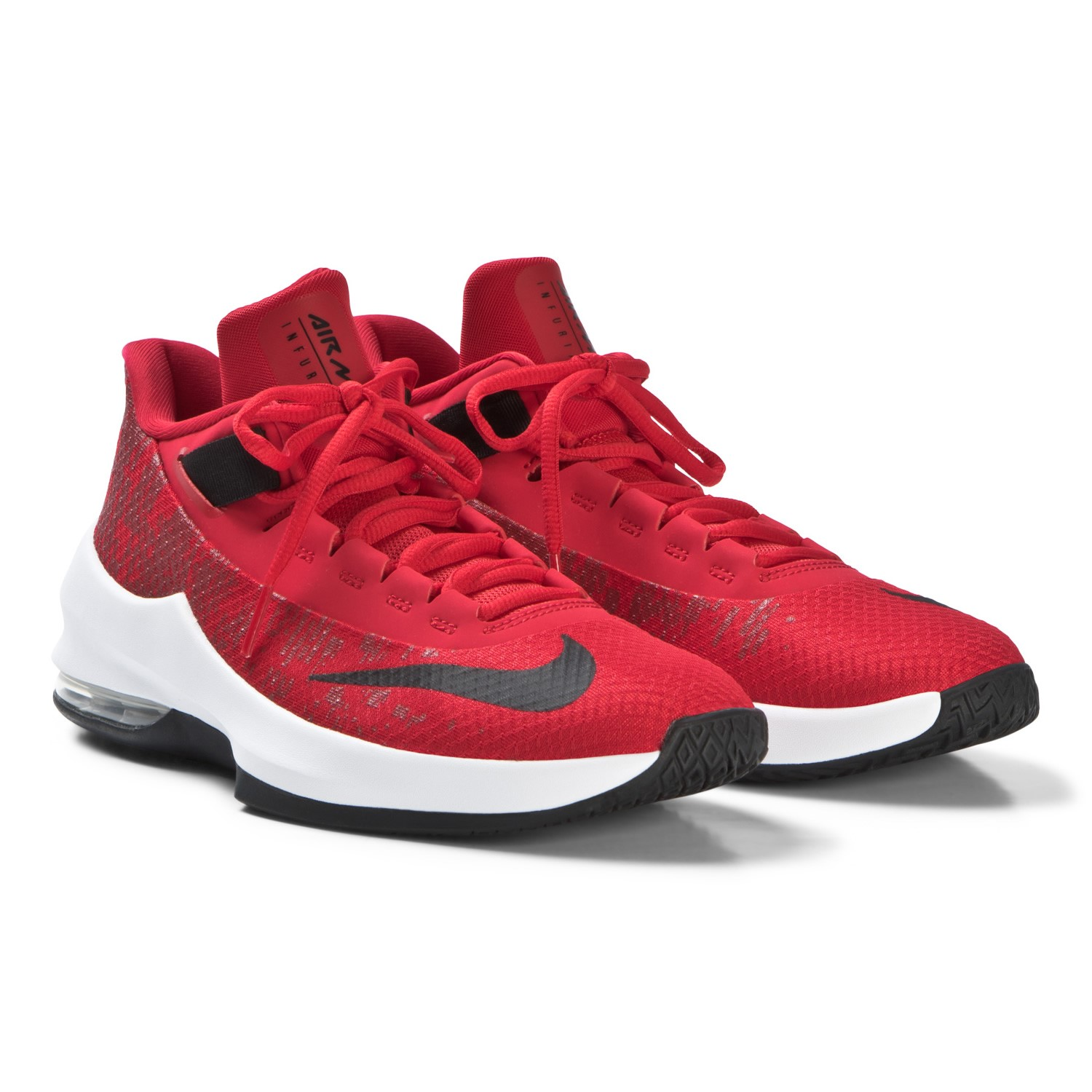 2d7185458a Nike Air Max Infuriate II GS - Kids Basketball Shoes - University Red/Black/