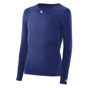 Skins DNAmic Team Youth Compression Long Sleeve Top