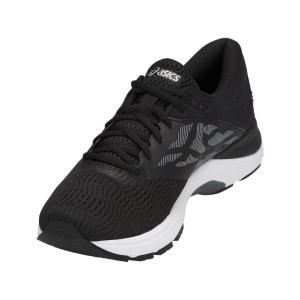Asics Gel Flux 5 - Mens Running Shoes - Black/Silver/Carbon