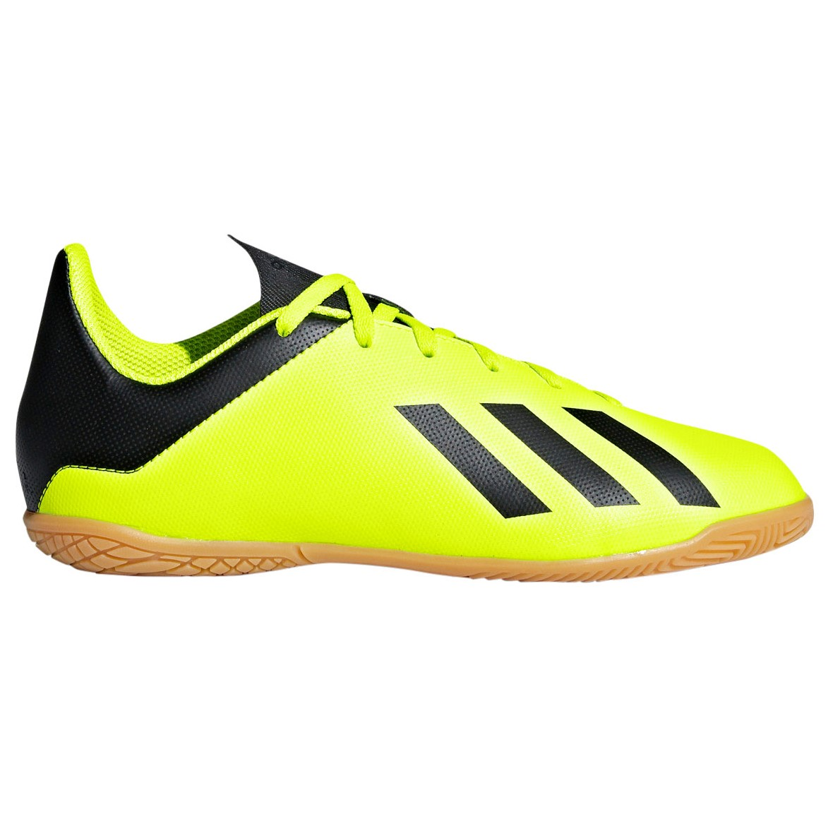 new style f8f74 7f347 Adidas X Tango 18.4 Kids Futsal Indoor Soccer Boots - Solar Yellow Core  Black