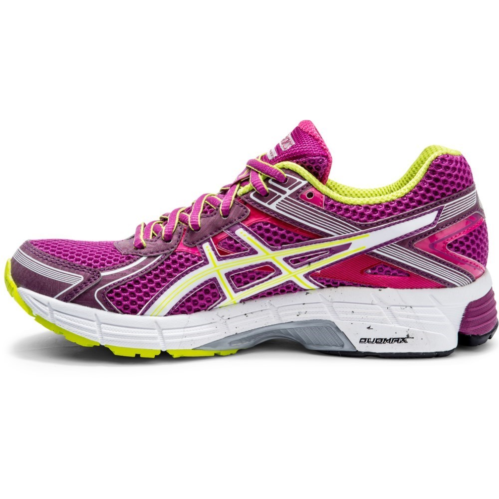asics gt 1000 2 womens running shoes grape white lime. Black Bedroom Furniture Sets. Home Design Ideas