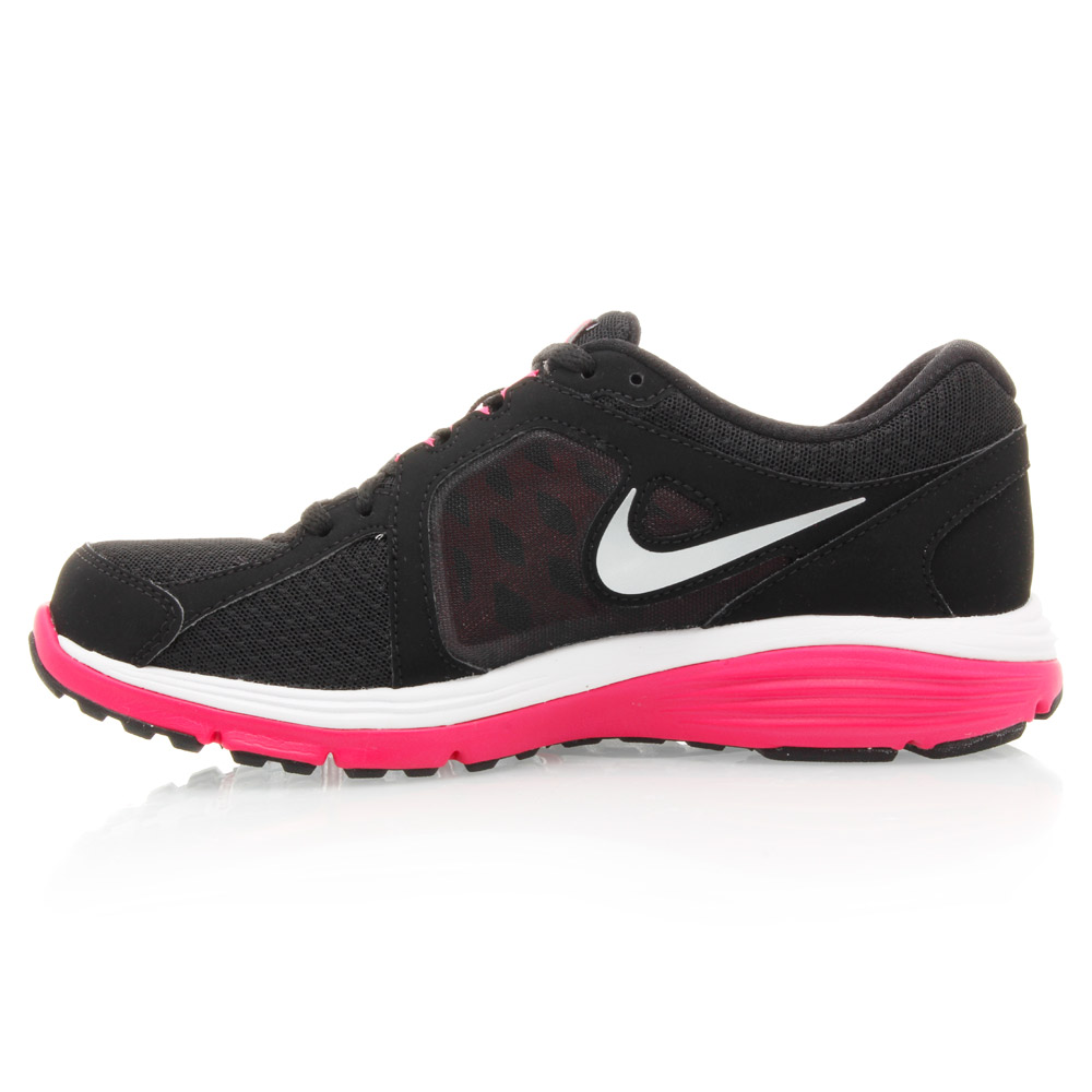 Nike Dual Fusion Run  Womens Running Shoes White Pink