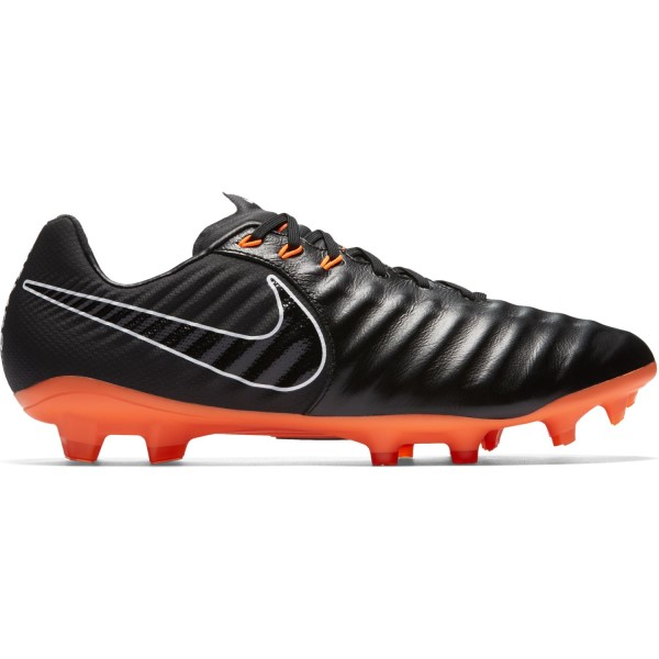 Nike Tiempo Legend VII Pro FG - Mens Football Boots - Black/Total Orange/White