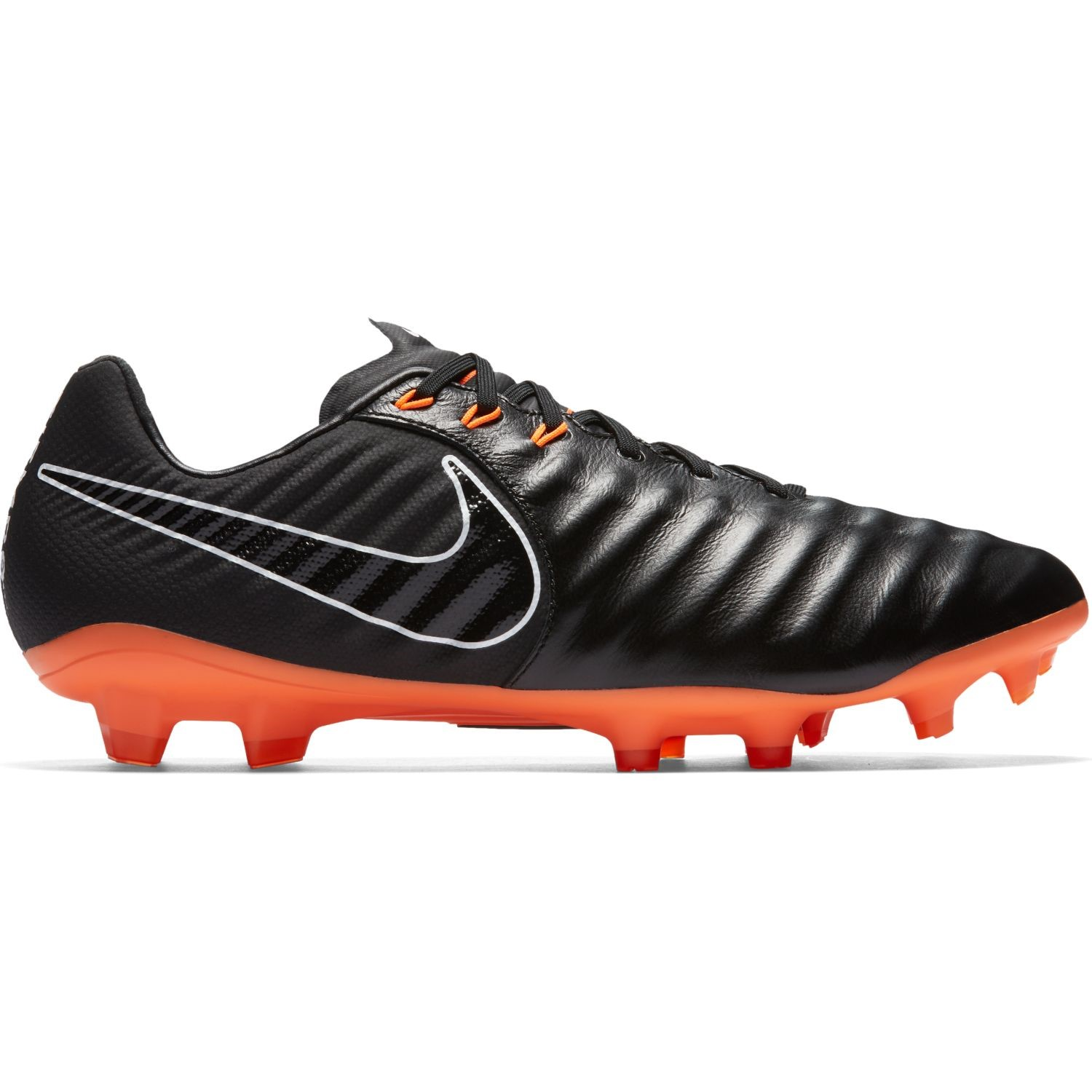 low priced ea038 559fe Nike Tiempo Legend VII Pro FG - Mens Football Boots - Black/Total Orange/