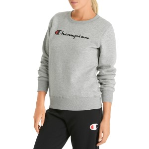 Champion Script Crew Womens Sweatshirt