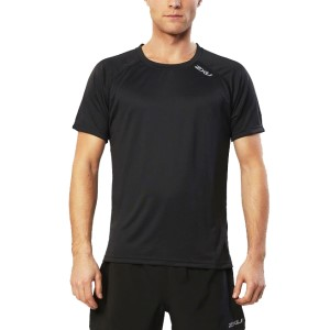 2XU Mens Tech Vent Running Short Sleeve Top