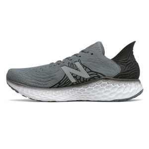 New Balance Fresh Foam 1080v10 - Mens Running Shoes - Grey/Black/White