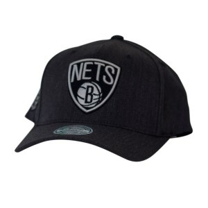 Mitchell & Ness NBA Brooklyn Nets Charcoal Basketball Cap