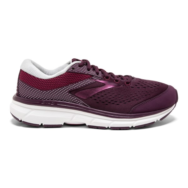 Brooks Dyad 10 - Womens Running Shoes - Purple/Pink/Grey