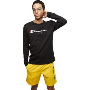 Champion Script Mens Long Sleeve T-Shirt