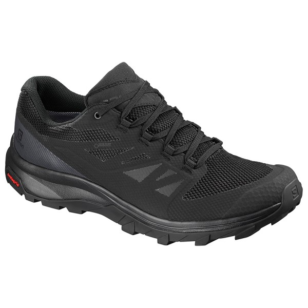 Salomon Outline GTX - Mens Trail Hiking Shoes - Black/Phantom/Magnet