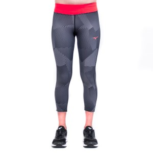 Mizuno Lotus 3/4 Womens Training Tights