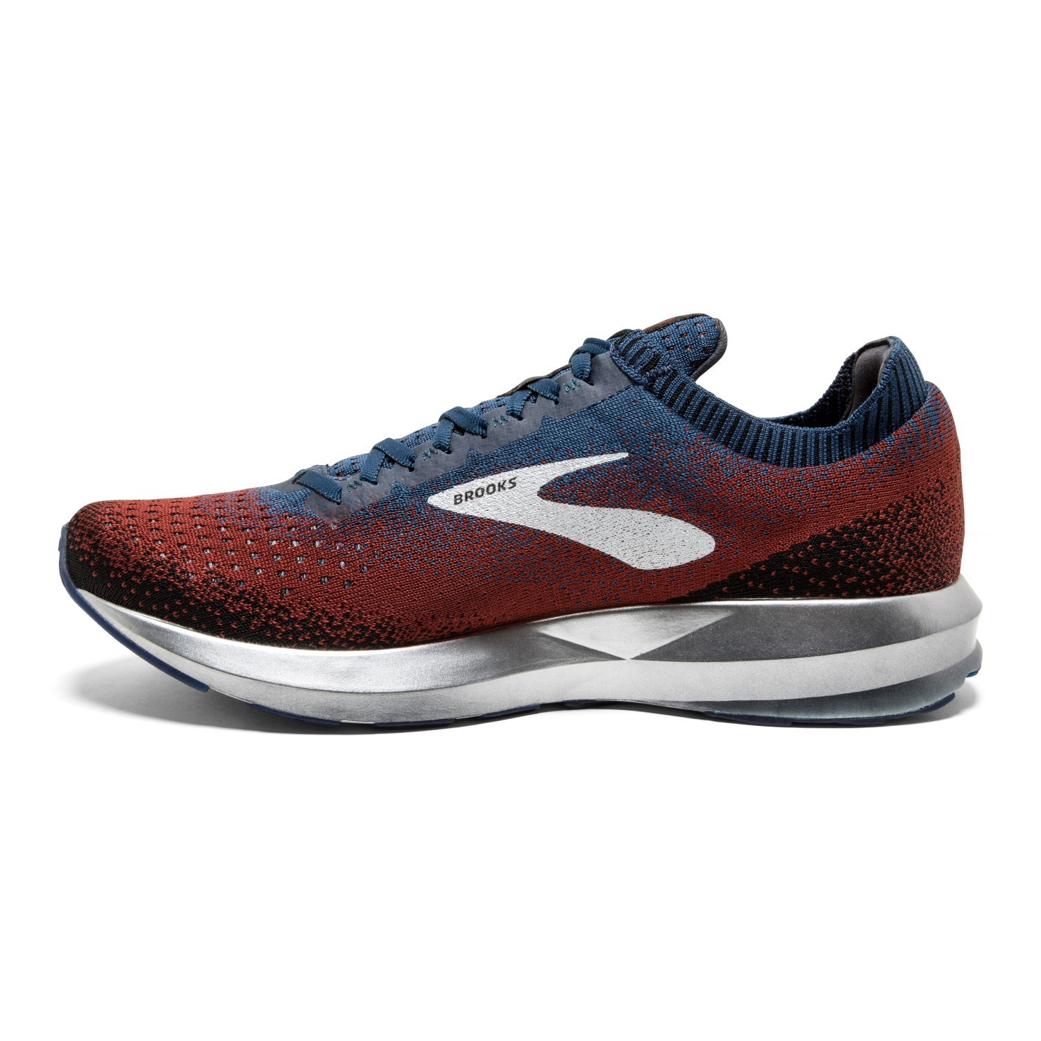0ddd33ef3c2f Brooks Levitate 2 - Mens Running Shoes - Chili Navy Black