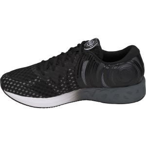 Asics Noosa FF 2 - Mens Triathlon/Running Shoes - Black/White/Carbon