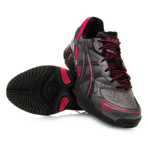 asics netball trainers size 3