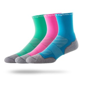 Lightfeet Evolution Half Crew - Unisex Running Socks