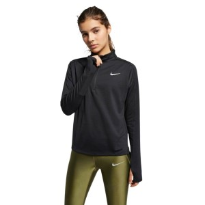 Nike Pacer Half Zip Womens Long Sleeve Running Top