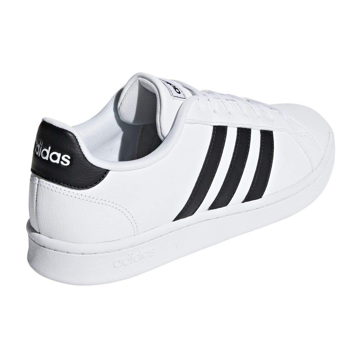 d0bf1f42a5 Adidas Grand Court - Mens Sneakers - Cloud White Core Black