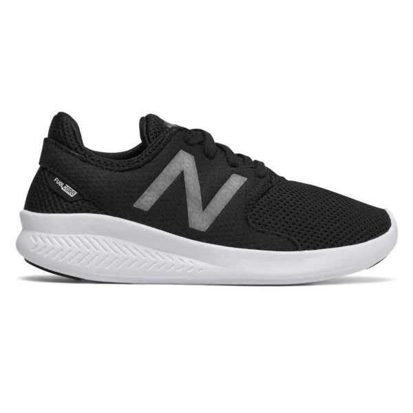 New Balance Fuel Core Coast v3 - Kids Boys Running Shoes - Black/White