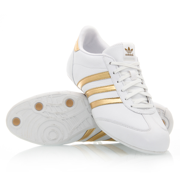 adidas gold shoes women