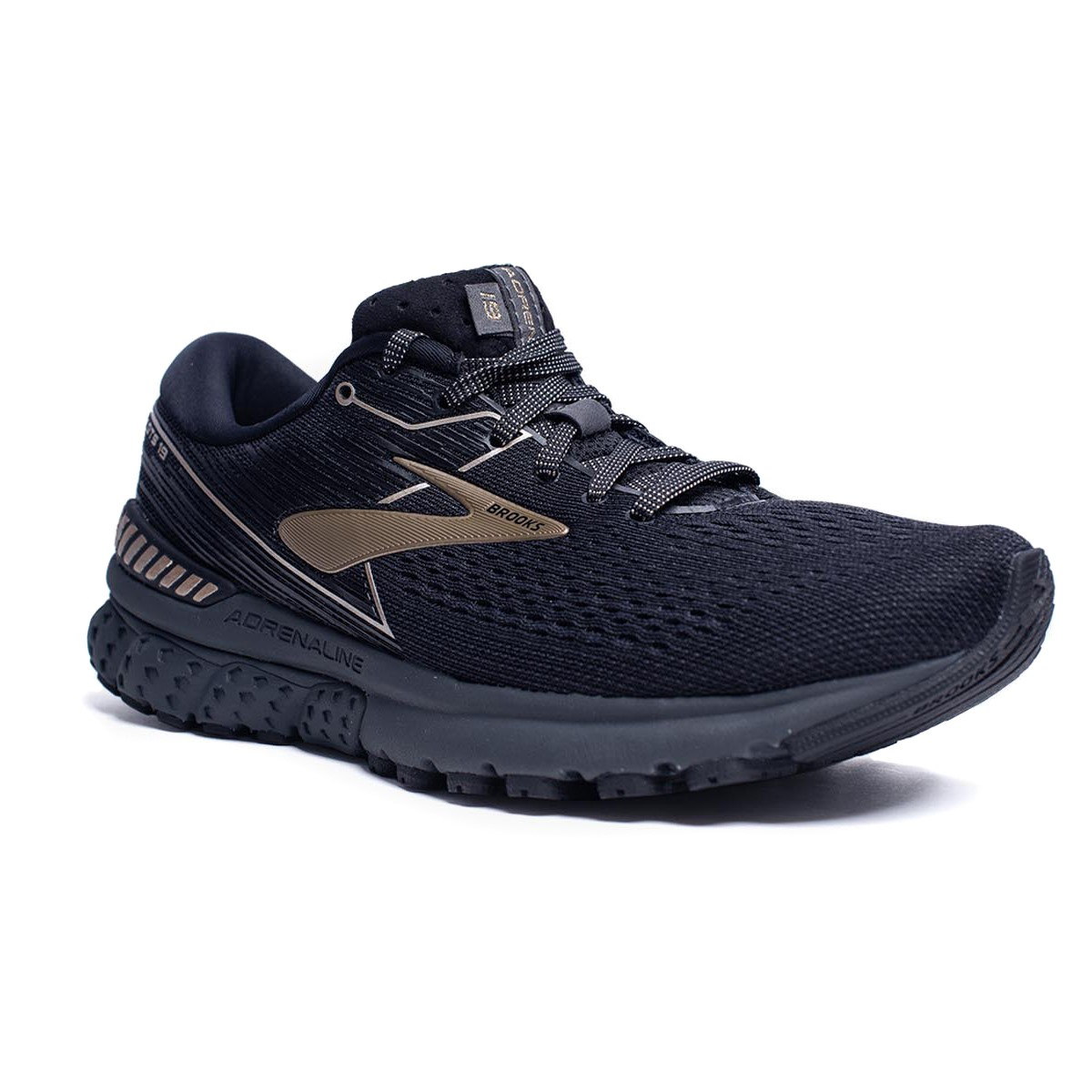 f04373b2b3d Brooks Adrenaline GTS 19 Metallic Pack - Womens Running Shoes -  Black Champagne