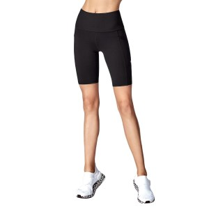 Running Bare Power Move Womens Bike Short Tights