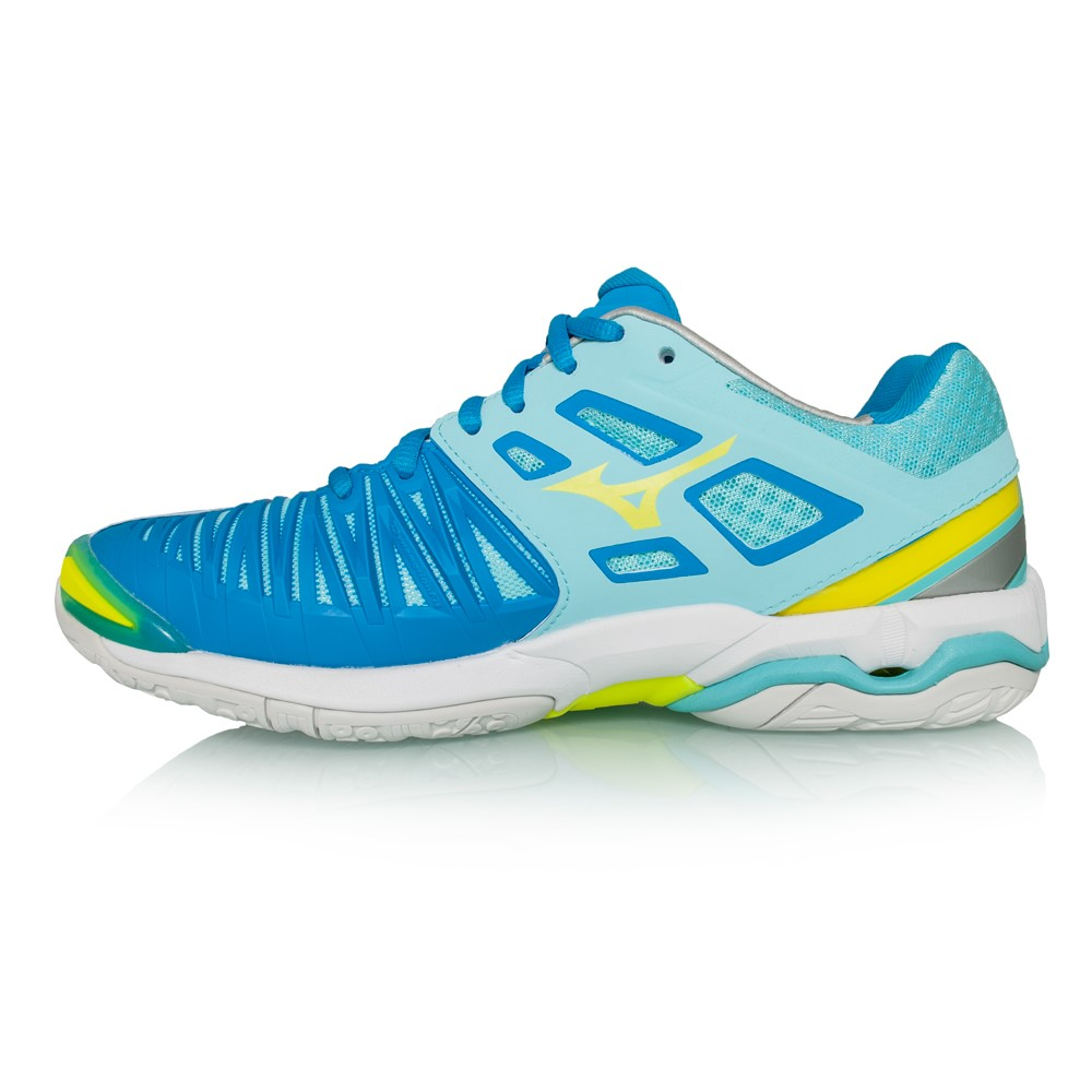 Mizuno Wave Stealth 4 Women UK 5,5 blue radiance/white/diva blue