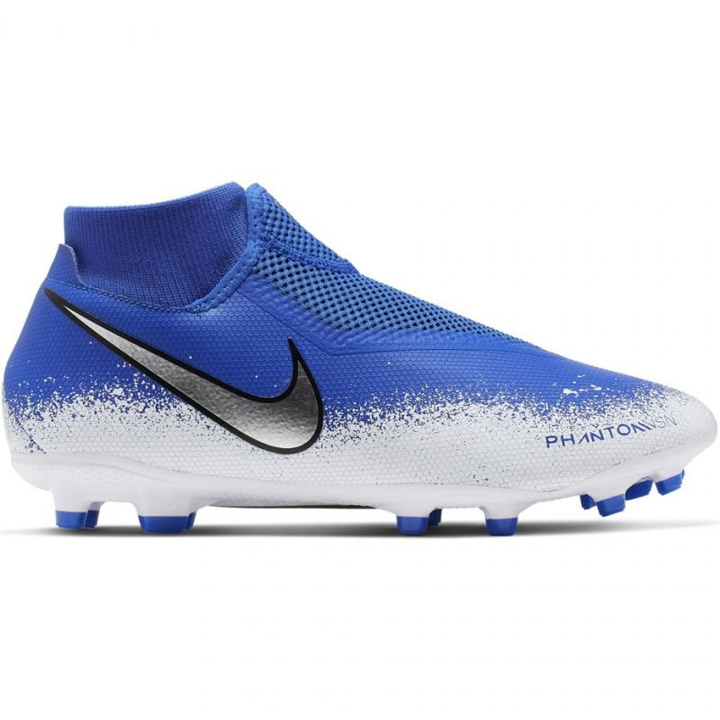 newest collection 9d8cd 68e06 Nike Phantom VSN Academy DF FG MG - Mens Football Boots - Racer Blue