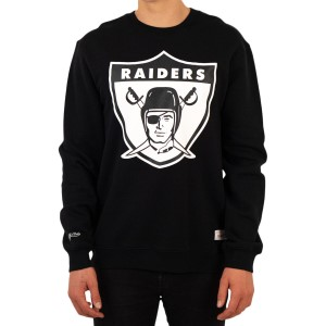 Mitchell & Ness Oakland Raiders Team Logo NFL Mens Football Sweatshirt