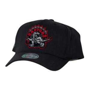 Mitchell & Ness NBA Toronto Raptors Charcoal Basketball Cap