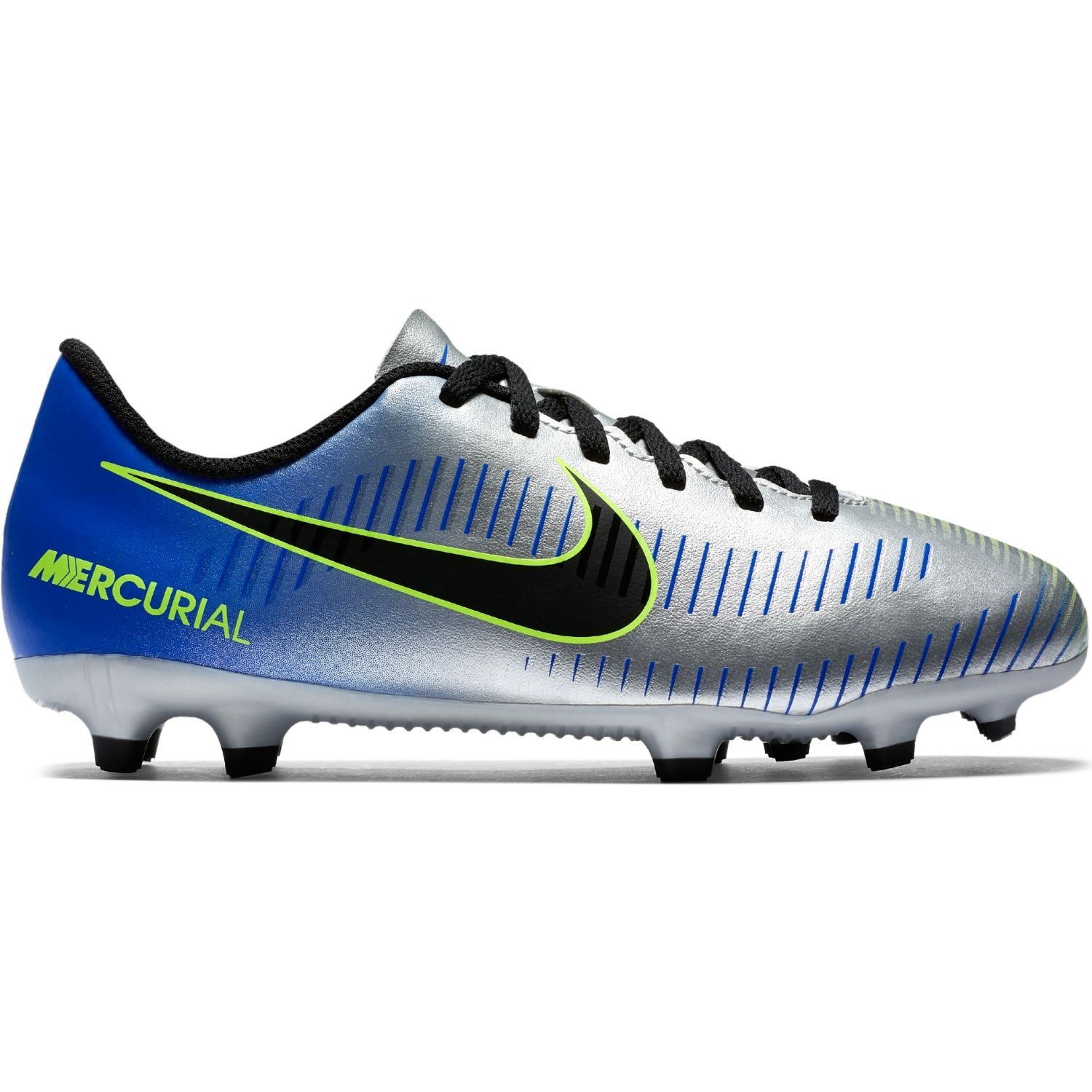 Nike Neymar Jr Mercurial Vortex III FG - Kids Football Boots - Racer  Blue Black 6069e4853ac56