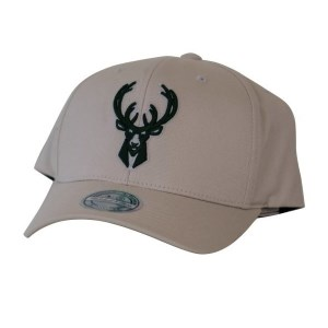 Mitchell & Ness NBA Milwaukee Bucks Stone Forest Basketball Cap
